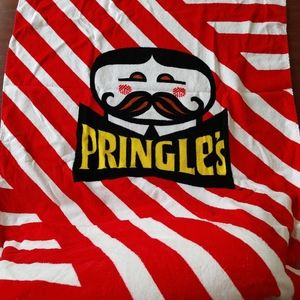 Limited edition Pringles beach towel